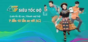Dịch vụ 4G LTE của nhà mạng Viettel